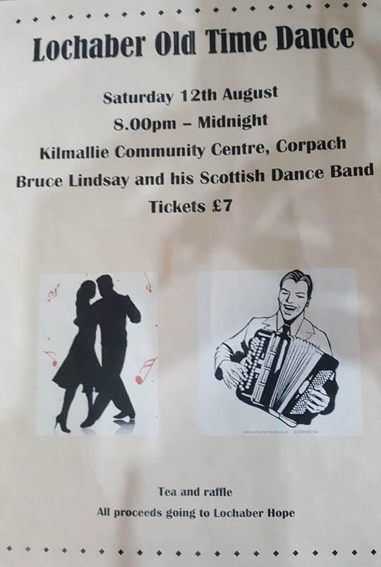 Lochaber Old Time Dance @ Kilmallie Community Centre