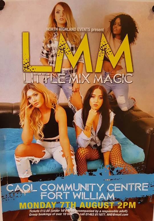 Little Mix Magic @ Caol Community centre