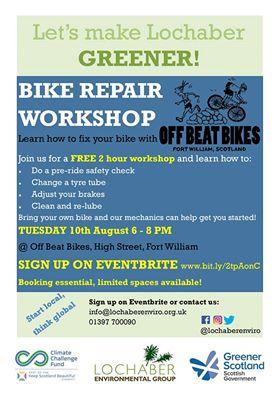 Bike Repair Workshop @ Offbeat Bikes